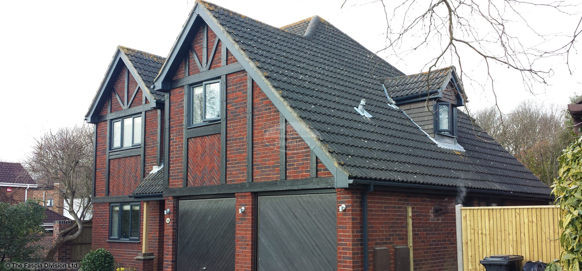 Anthracite Grey fascias and soffits Oxford