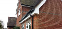 white fascias and soffits Oxford