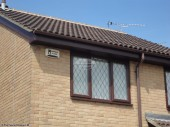Fascias and soffits and half round guttering installation in Abingdon, Oxford
