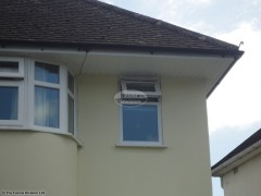 New UPVC fascia, soffits and guttering installation in Oxford