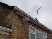 Fascias, soffits, UPVC ogee guttering installation in Chipping Norton, Oxfordshire