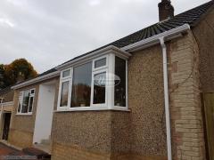 Full replacement fascias, soffits and ogee guttering in Chipping Norton, Oxfordshire