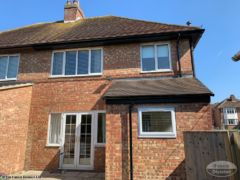 UPVC black fascias and soffits fitters Oxford