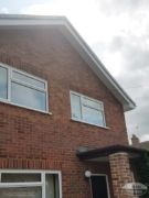 White UPVC fascias and soffits